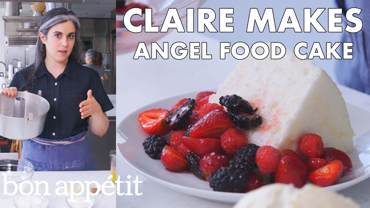 Claire Makes Angel Food Cake | From the Test Kitchen | Bon Appétit