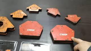 очень подробный обзор сварочных магнитов/магнитных угольников