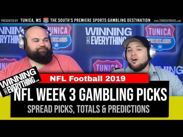 WCE: 2019 NFL Week 3 Gambling Picks (Against the Spread)