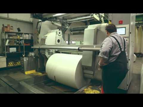 neues deutschland - So wird eine Zeitung hergestellt
