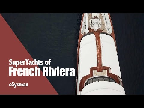 SuperYachts in the French Riviera