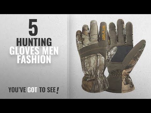 Top 10 Hunting Gloves [Men Fashion Winter 2018 ]: Hot Shot 0x-206C-xx-AZ Men's