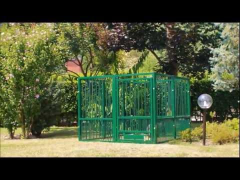 Dante recinto per cani montaggio youtube - Recinto mobile per cani ...