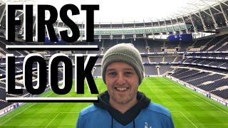 FIRST LOOK At The NEW Tottenham Stadium!