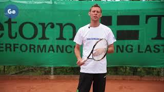 Подача и секреты приема в теннисе. Часть 5: Подачи с различными вращениями