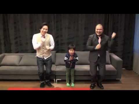 """クマムシとYouTubeで人気の5歳児""""がっちゃん""""が「あったかいんだからぁ♪~スーパーキューティクルVer.~」を踊ってみた。"""