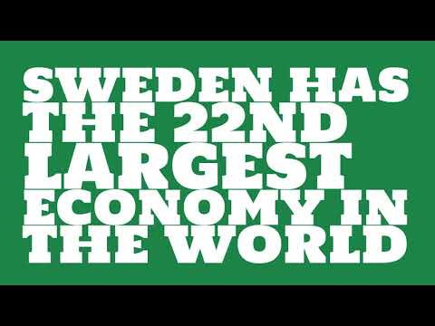 How big is the economy of Sweden?