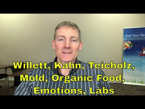 Walter Willett MD Joel Kahn MD Nina Teicholz Mold Notes Lab Tests