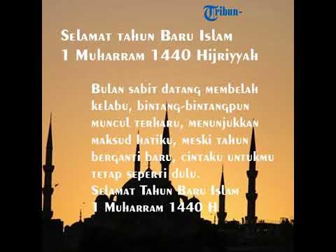 Selamat Tahun Baru Islam 1 Muharram 1442 H Berikut Ucapan Dengan Kata Kata Mutiara Tribun Manado