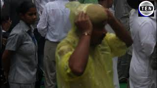 Jaitley's Funeral: Weather changes dramatically at Nigambodh Ghat