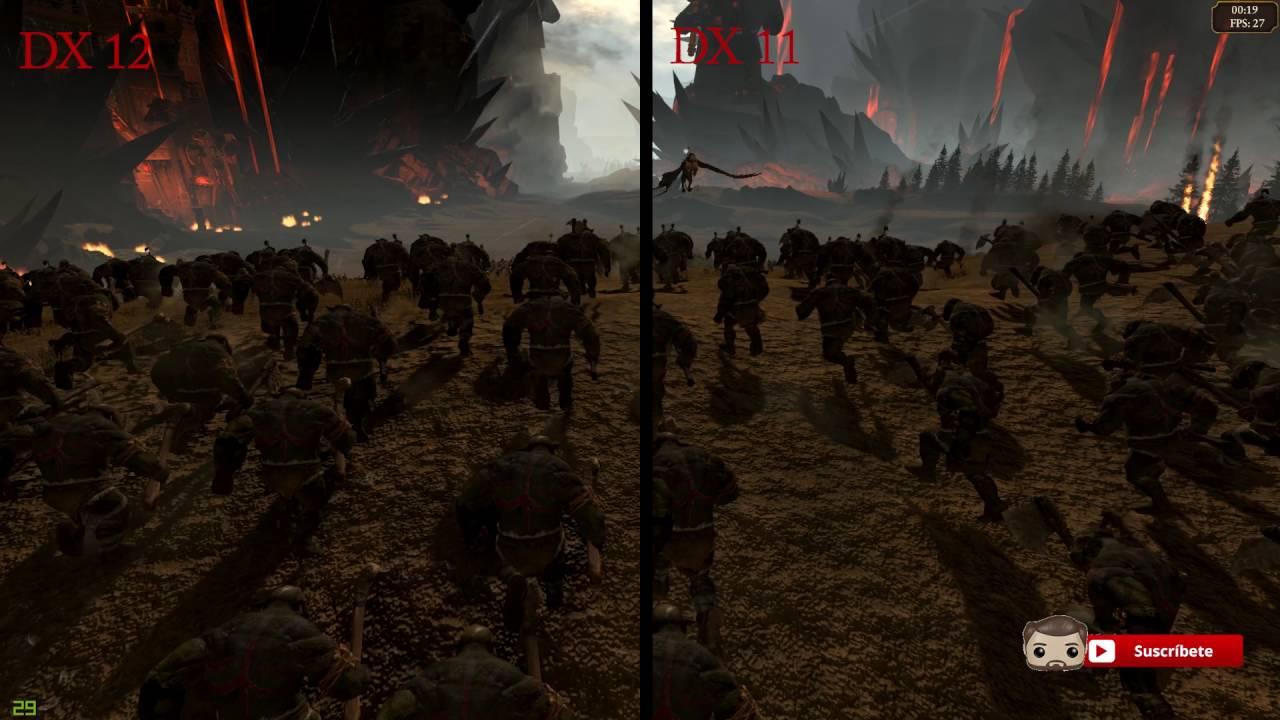 Total War Warhammer | DirectX 11 vs DirectX 12 | Performance Test | GTX 970  Ultra Settings