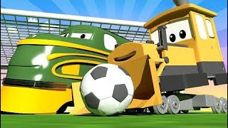Special Fifa - United Train City - Troy The Train In Auto City! | Cartoon Trains