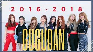 gugudan 구구단 MV Evolution (2016-2018)