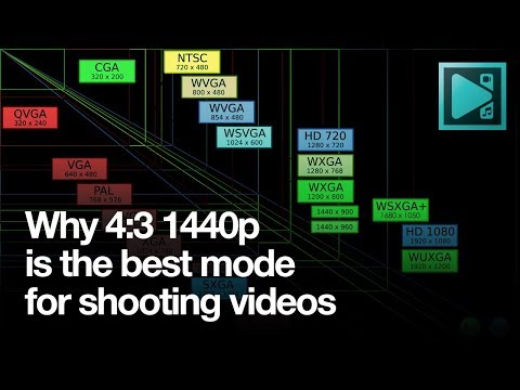 Why you should always shoot videos in 4:3/1440р mode
