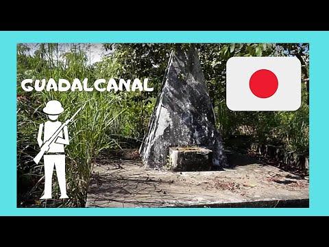 SOLOMON ISLANDS, a forgotten WW2 JAPANESE WAR MEMORIAL  (Guadalcanal)