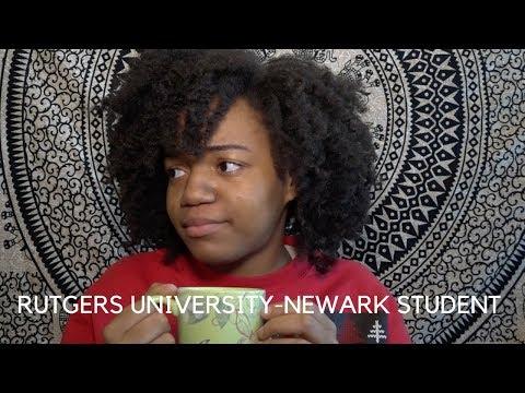 CONFESSIONS OF A RUTGERS UNIVERSITY-NEWARK STUDENT