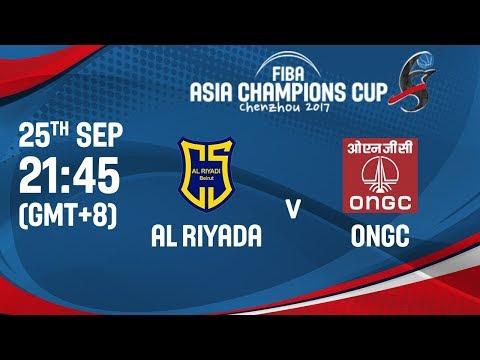 🔴 LIVE - Al Riyadi (LBN) v ONGC (IND) - FIBA Asia Champions Cup 2017