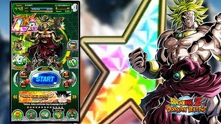 NEW TEQ BROLY RAINBOW STAR SHOWCASE | IS HE THE NEW BEST LR IN THE GAME!? | DBZ DOKKAN BATTLE