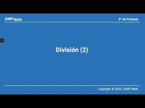 5º. Unidad 4. Dividir II