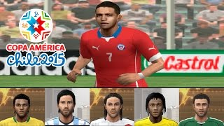 PES Copa América Chile 2015 no PSP - Playstation portable