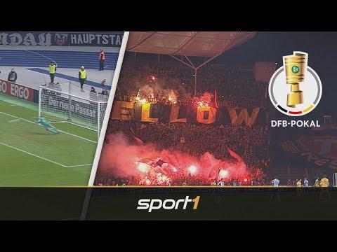 Hertha BSC - Dynamo Dresden 8:7 i.E. | Highlights | DFB-Pokal 2019
