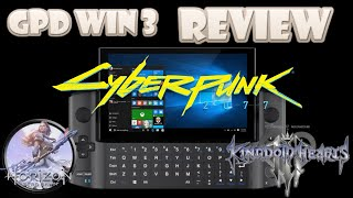 GPD Win 3 Handheld PC Review (Video Game Video Review)