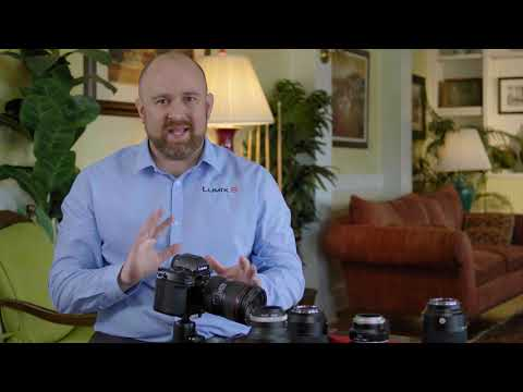 Panasonic LUMIX S Series Camera Tutorial : Image Stabilizer & I.S. Status Scope