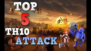 TOP 5 Best TH10 Attack Strategy 2017 ◆ CoC 3 Star MAX Town Hall 10 War Base ◆ Clash of Clans