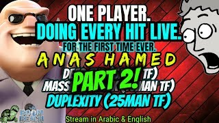 PART 2 - ONE PLAYER. Doing EVERY SINGLE Hit. LIVE. FIRST TIME EVER - 25man DUPLEXITY!