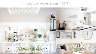 Real Farmhouse Home Tour - Our DIY Farmhouse Renovation