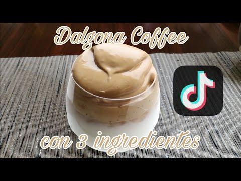 TikTok Coffee / Dalgona Coffee / Café Espumoso Con 3 Ingredientes | IzAntront