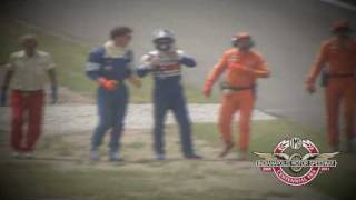The finish of the 1989 Indy 500