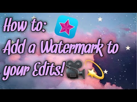 How to add a watermark on VIDEOSTAR! (MUST PAY)🖤