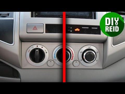 Toyota Tacoma AC Knob Replacement Mod