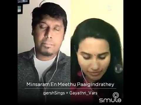 Minsaram En Meethu Paaigindrathey - Run | GershSings + Gayathri_Vars
