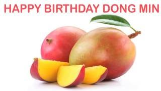 DongMin   Fruits & Frutas - Happy Birthday