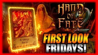Hand of Fate 2 - First Look Fridays! Impressions Gameplay
