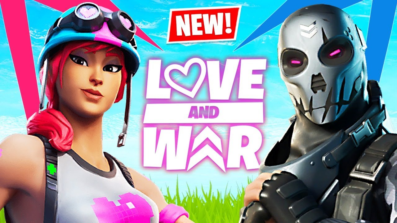 NEW Fortnite LOVE and WAR Update!! (Fortnite Battle Royale) thumbnail
