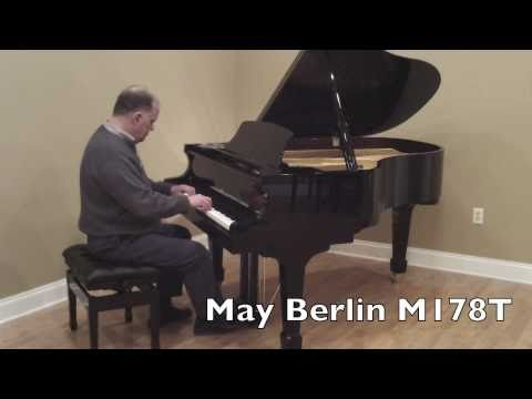 Demo Of May Berlin Piano, M178T - Selected By Schimmel