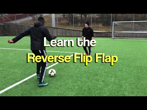 Learn Advanced 1v1 Football Skills: Reverse Elastico/Flip Flap
