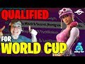 QUALIFIED FOR FORTNITE WORLD CUP IN NEW YORK // Secret Mongraal reviews the games | Fortnite