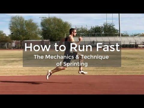 Sprint Technique: How To Run Fast - Sprint Mechanics - ATHLETE.X