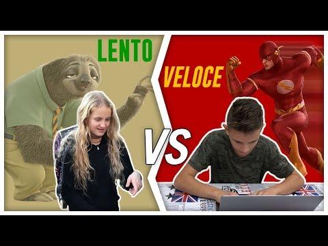 LENTI vs VELOCI - differenze by Lukas Ceci e Lisa