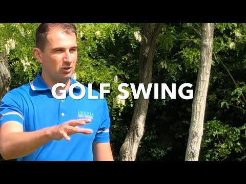 1. Golf lecke: Golflendítés - swing