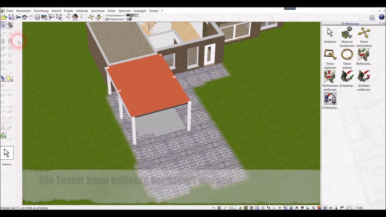 Carport Selber Planen Mit Dem 3d Architekt Von Immocado De Youtube