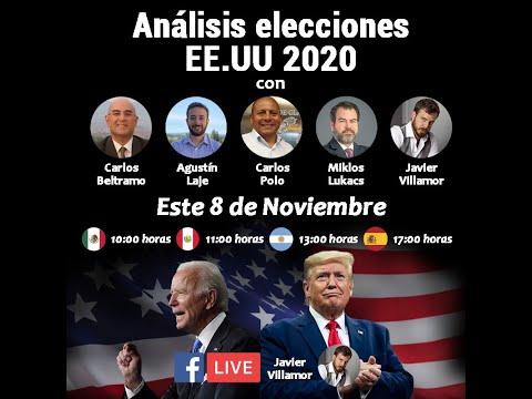 Análisis elecciones Estados Unidos 2020
