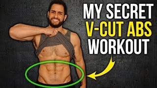 My V-Cut Abs Workout Routine (Finally Revealed!!)