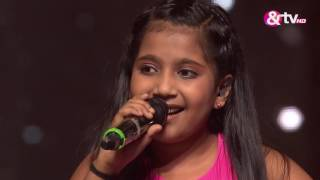 Shreya Basu - Raina Beeti Jaaye - Liveshows - Episode 26 - The Voice India Kids