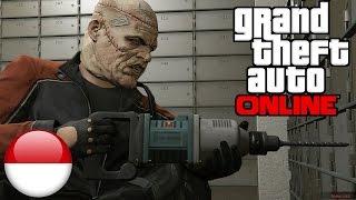 RAMPOK BANK - Grand Theft Auto V - GTA 5 Part 7
