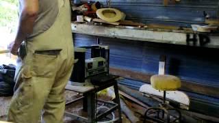 Wood Planer Operation